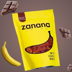 Banana Brown Chocolate